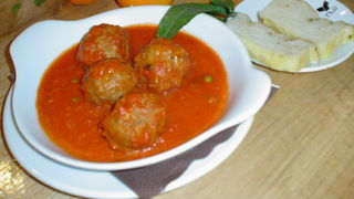 Nui Trafford Centre meatballs Sicily