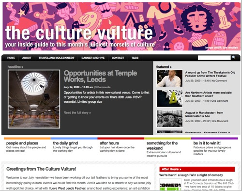 Culture vultures screen grab